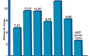 Le FDI grimpe de 20 % en six mois | business-magazine.mu