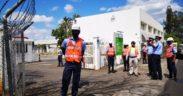 Vivo Energy Mauritius procède à une simulation d'incendie   business-magazine.mu