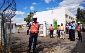 Vivo Energy Mauritius procède à une simulation d'incendie | business-magazine.mu