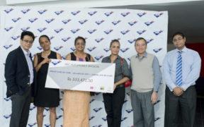 Trois ONG reçoivent Rs 333 000 d'ABC Automobile | business-magazine.mu