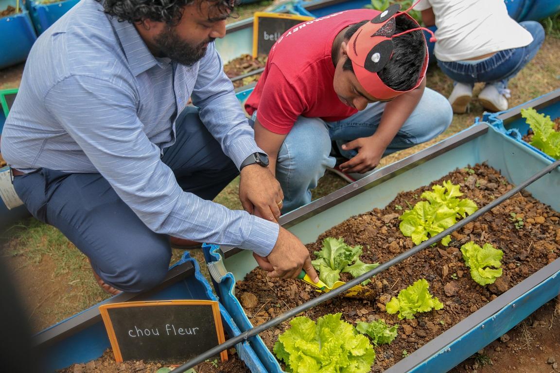 Promouvoir l'autosuffisance alimentaire auprès des jeunes | business-magazine.mu