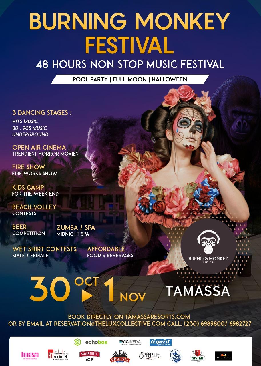 Première édition du Festival Burning Monkey à Tamassa   business-magazine.mu