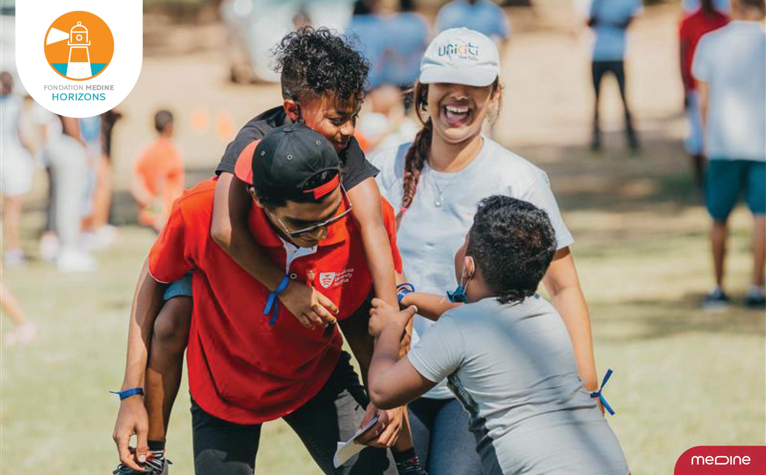Fondation Medine Horizons donne le sourire aux jeunes | business-magazine.mu