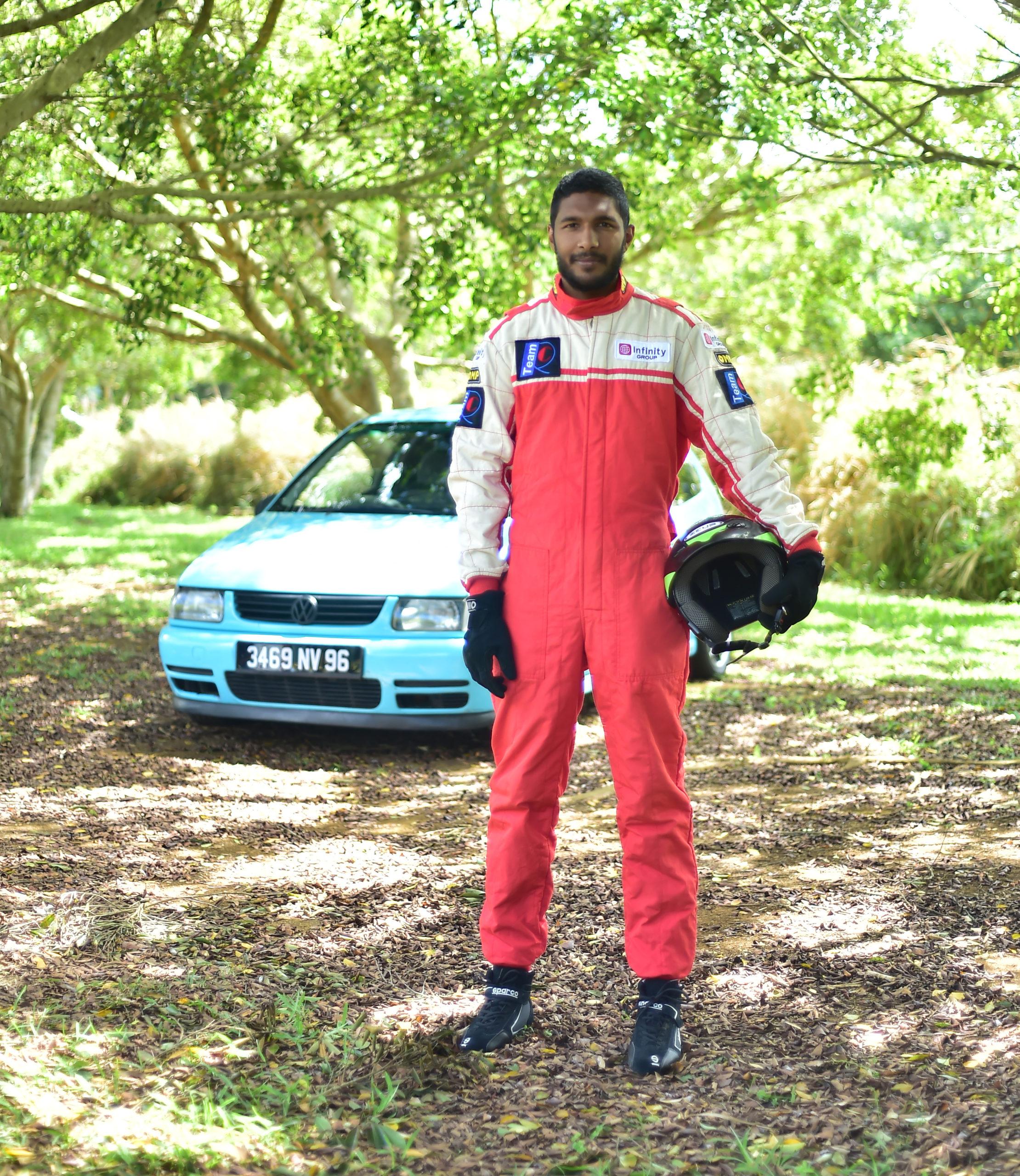 Nikhil Baggonauth - Le pilote aux forces G   business-magazine.mu