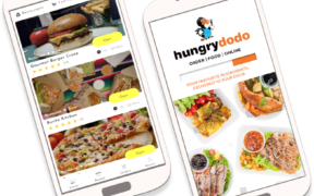 L'appli  du  mois - Hungrydodo livre à domicile | business-magazine.mu