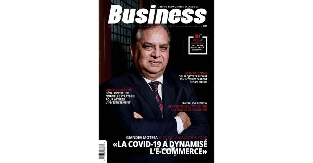 Giandev Moteea: «La Covid-19 a dynamisé l'e-commerce»   business-magazine.mu