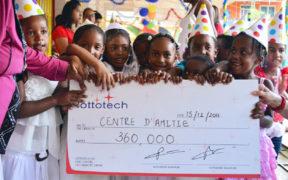 Lottotech parraine le Centre d'Amitié à hauteur de Rs 360 000 | business-magazine.mu