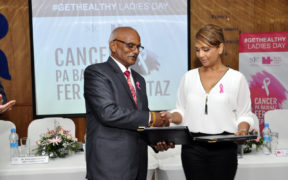 #GetHealthy Ladies Day - La NIC participe à la lutte contre le cancer du sein | business-magazine.mu