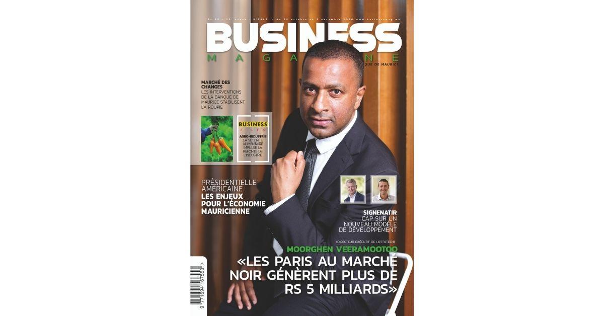 Moorghen Veeramootoo: «Le chiffre d'affaires des paris au marché noir s'élève à plus de Rs 5 milliards»   business-magazine.mu