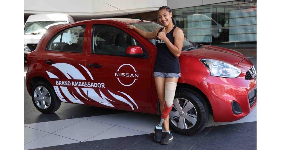 ABC Motors met une Nissan Micra à la disposition de Noemi Alphonse | business-magazine.mu