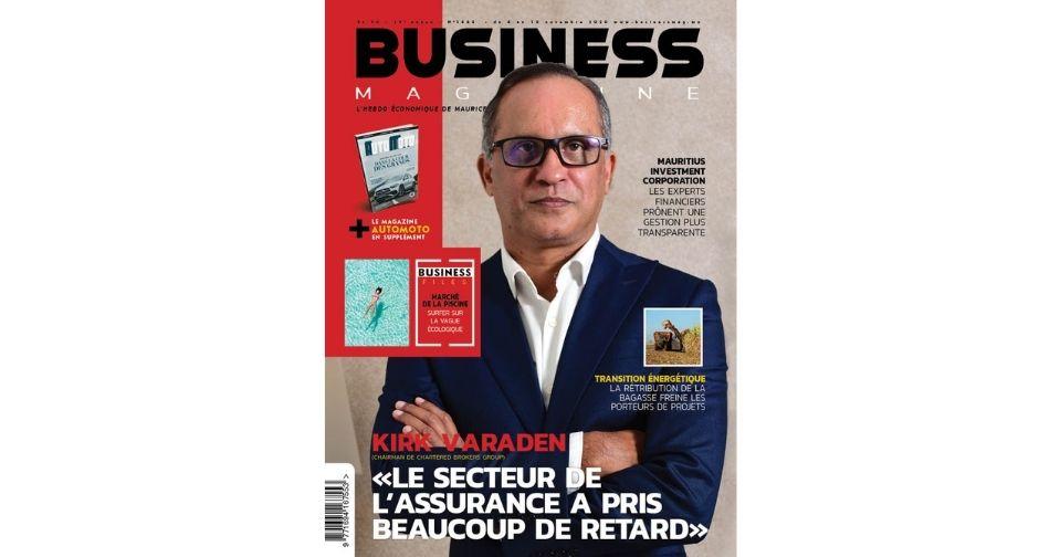 Kirk Varaden: «Le secteur de l'assurance a pris beaucoup de retard» | business-magazine.mu