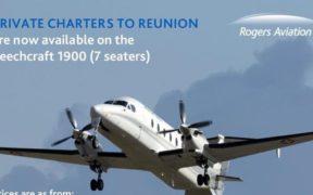 Rogers Aviation assure une desserte vers La Réunion | business-magazine.mu