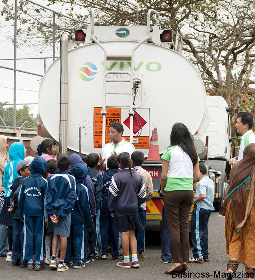 Vivo Energy mène campagne sur la sécurité routière | business-magazine.mu