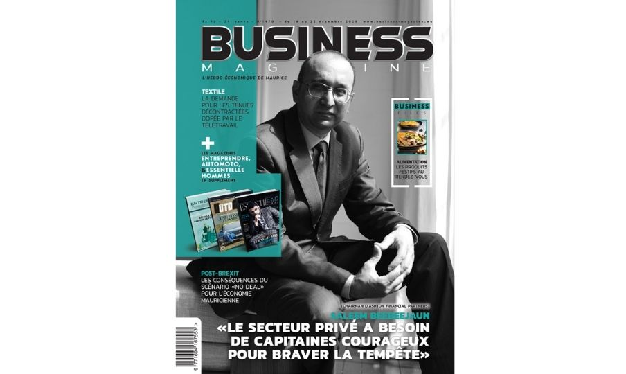 Saleem Beebeejaun Business Magazine