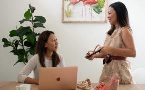 Carine et Wendy d'Ibiza Mauritius «Lorsqu'on travaille en famille