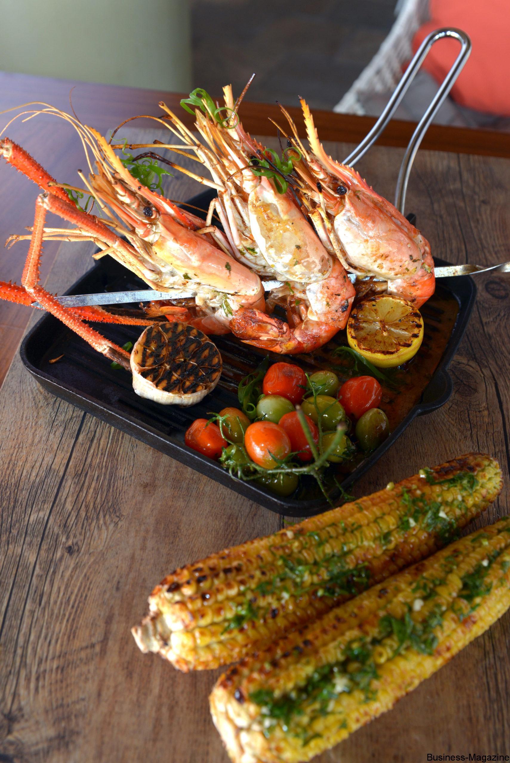 Crevettes sur le gril !   business-magazine.mu