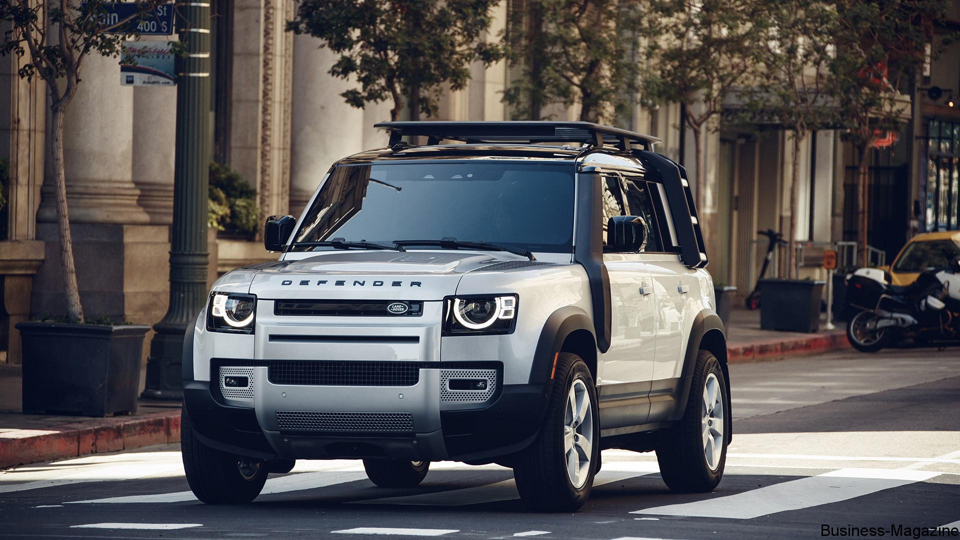 Axess - Le Land Rover Defender enfin disponible à Maurice   business-magazine.mu