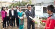 Vivo Energy Mauritius parraine le jardin médicinal de l'école Pandit Sahadeo | business-magazine.mu