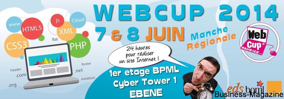 Webcup 2014 : 24 heures pour créer un site web | business-magazine.mu