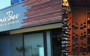 Façade de PhoenixBev Wines&Spirits Grand-Baie