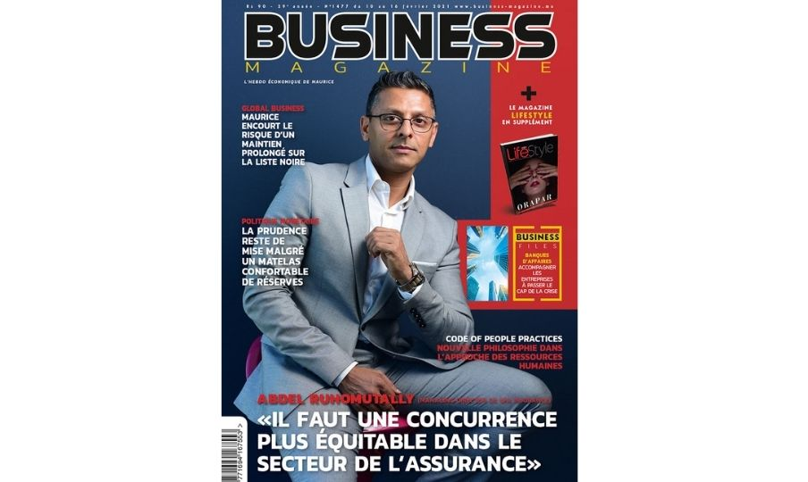 Abdel Ruhomutally Business Magazine