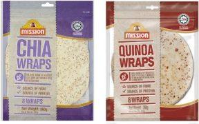 Mission Wrap au quinoa & chia