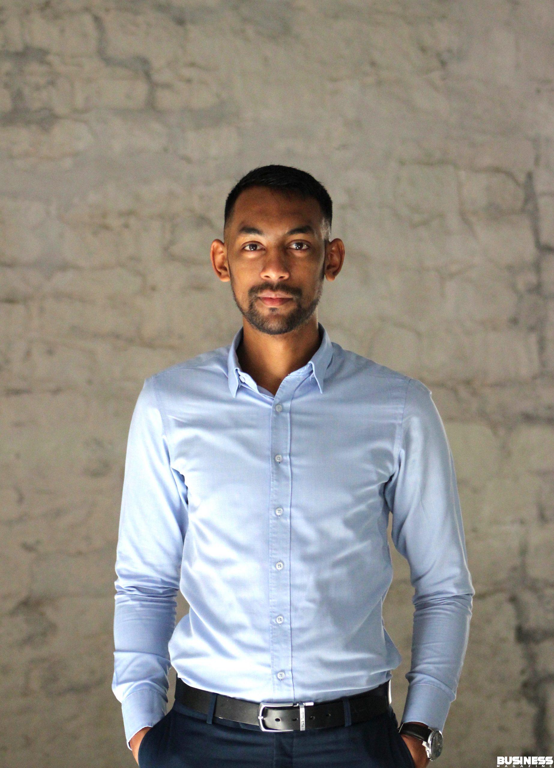 Jason Bholanauth - fondateur d'Inbound Mauritius