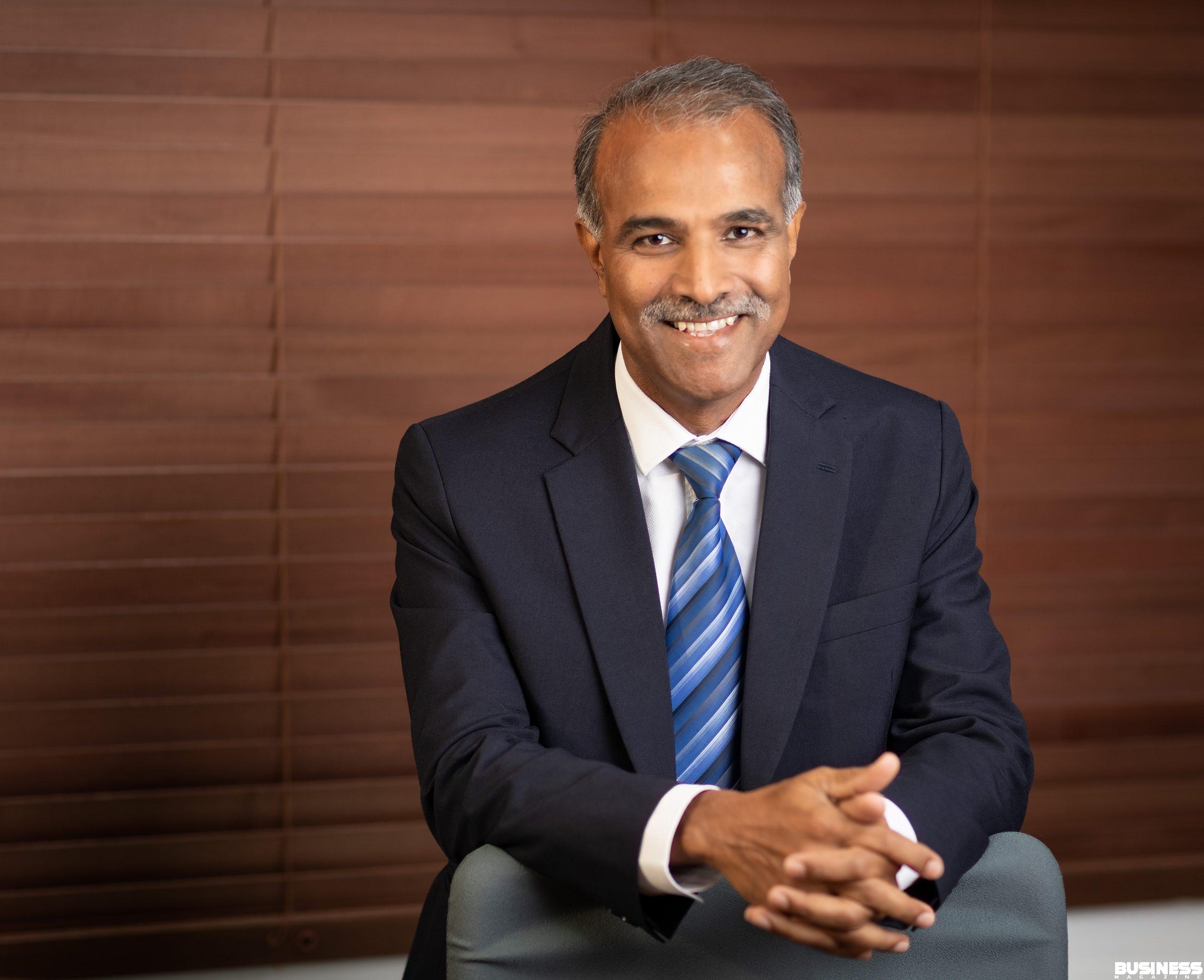 CEO Emtel Kresh Goomany