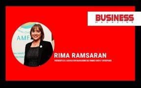 Rima Ramsaran, présidente de l'Association mauricienne des femmes chefs d'entreprises - femmes entrepreneurs - plateformes numériques