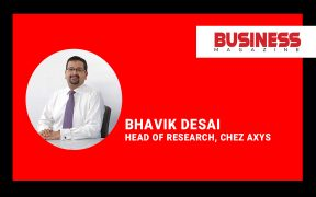 Bhavik Desai, Head of Research, chez AXYS