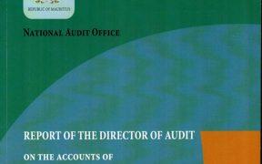 capture d'écran-Rapport du Directeur de l'Audit