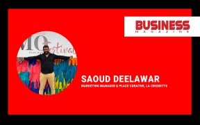 Saoud Deelawar, Marketing Manager & Place Curator, La Croisette