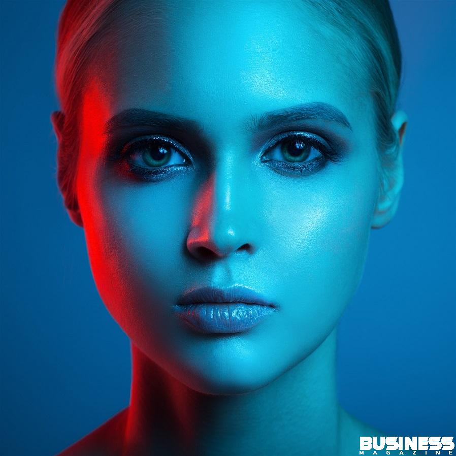 Illustrant la lumière bleue