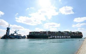 Ever Given Container ship