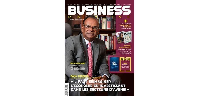 Business Magazine Cover Rama Sithanen 1496