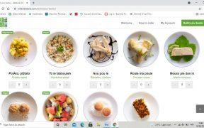 Capture d'écran de la plateforme de commande en ligne, Lakatoratora