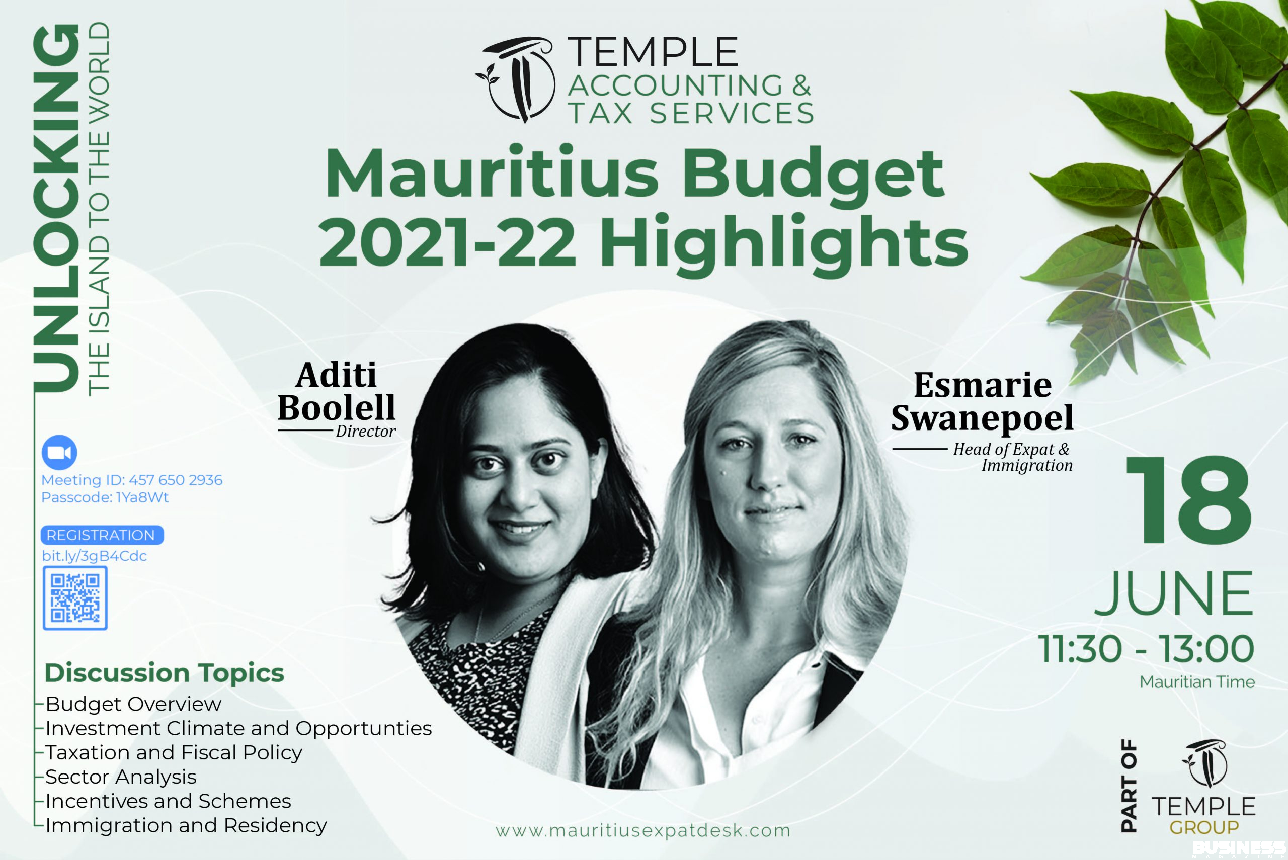 Mauritius Budget 2021-22 Highlights-01