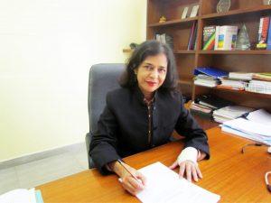 Executive Director Dr Geeta Daby