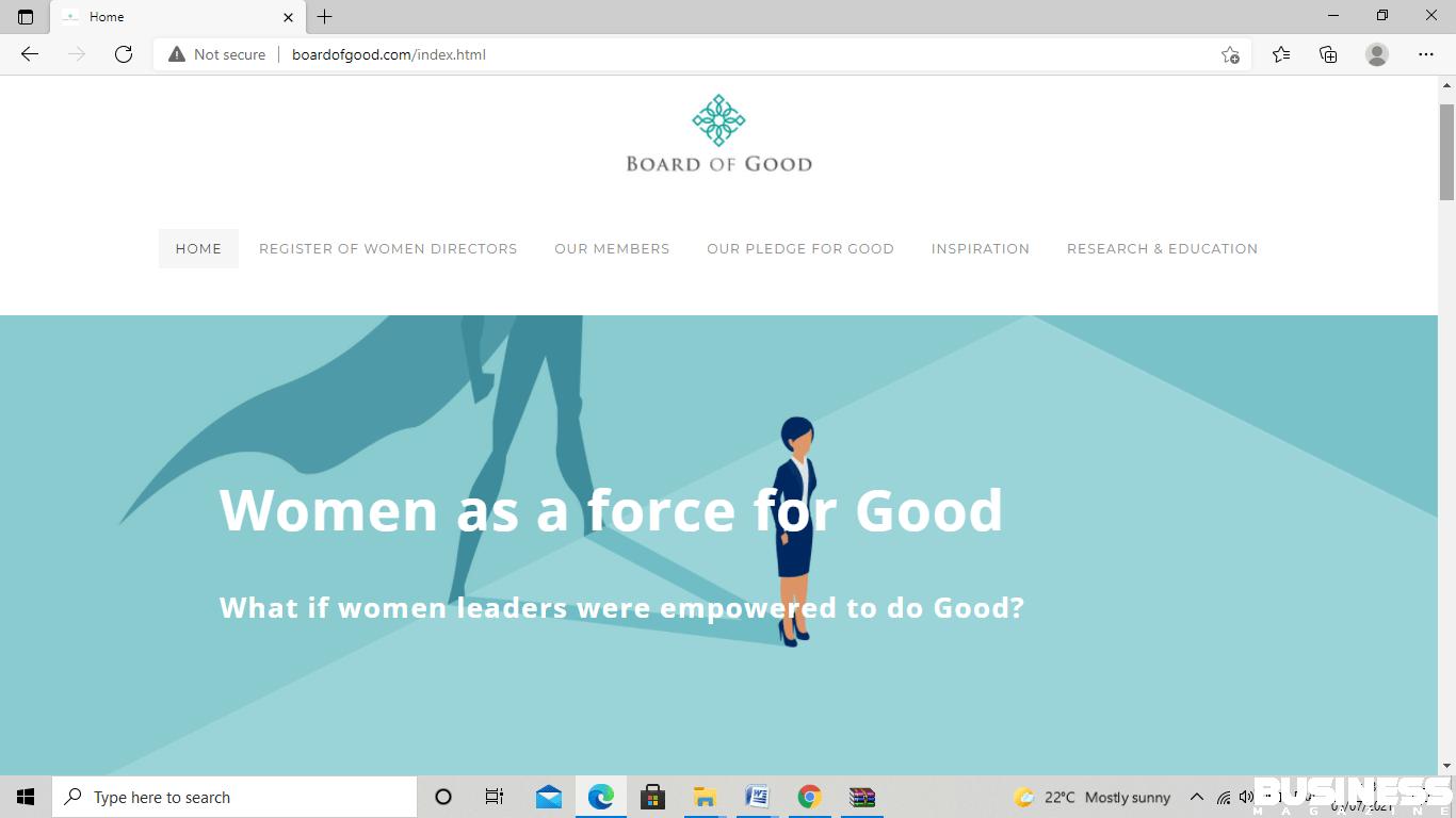 capture d'écran de The Board of Good