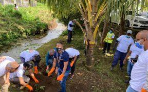 Campagne de nettoyage par PBL et la mairie de Vacoas-Phoenix à l'ocassion du World Cleanup Day 2021