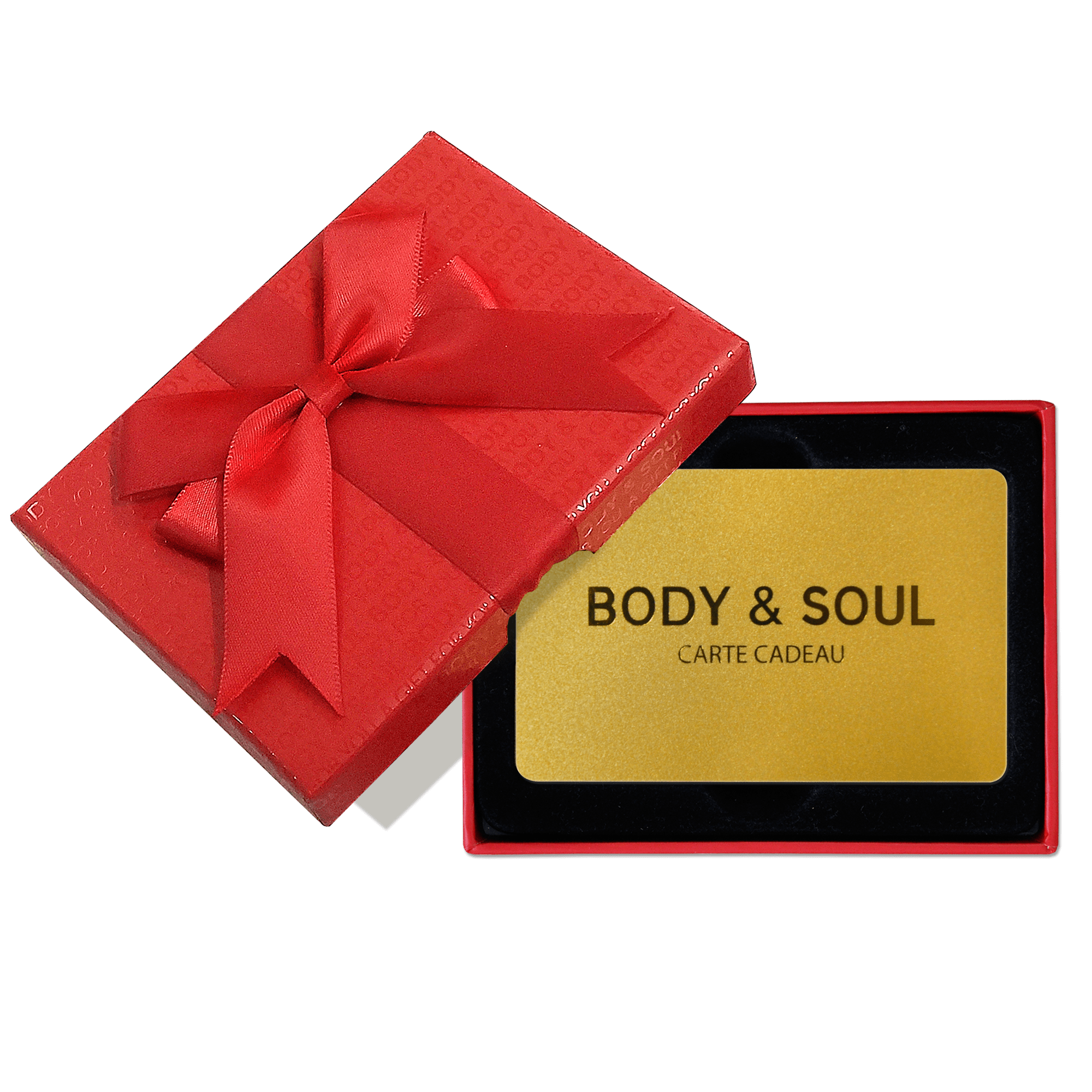 Carte cadeau Body & Soul