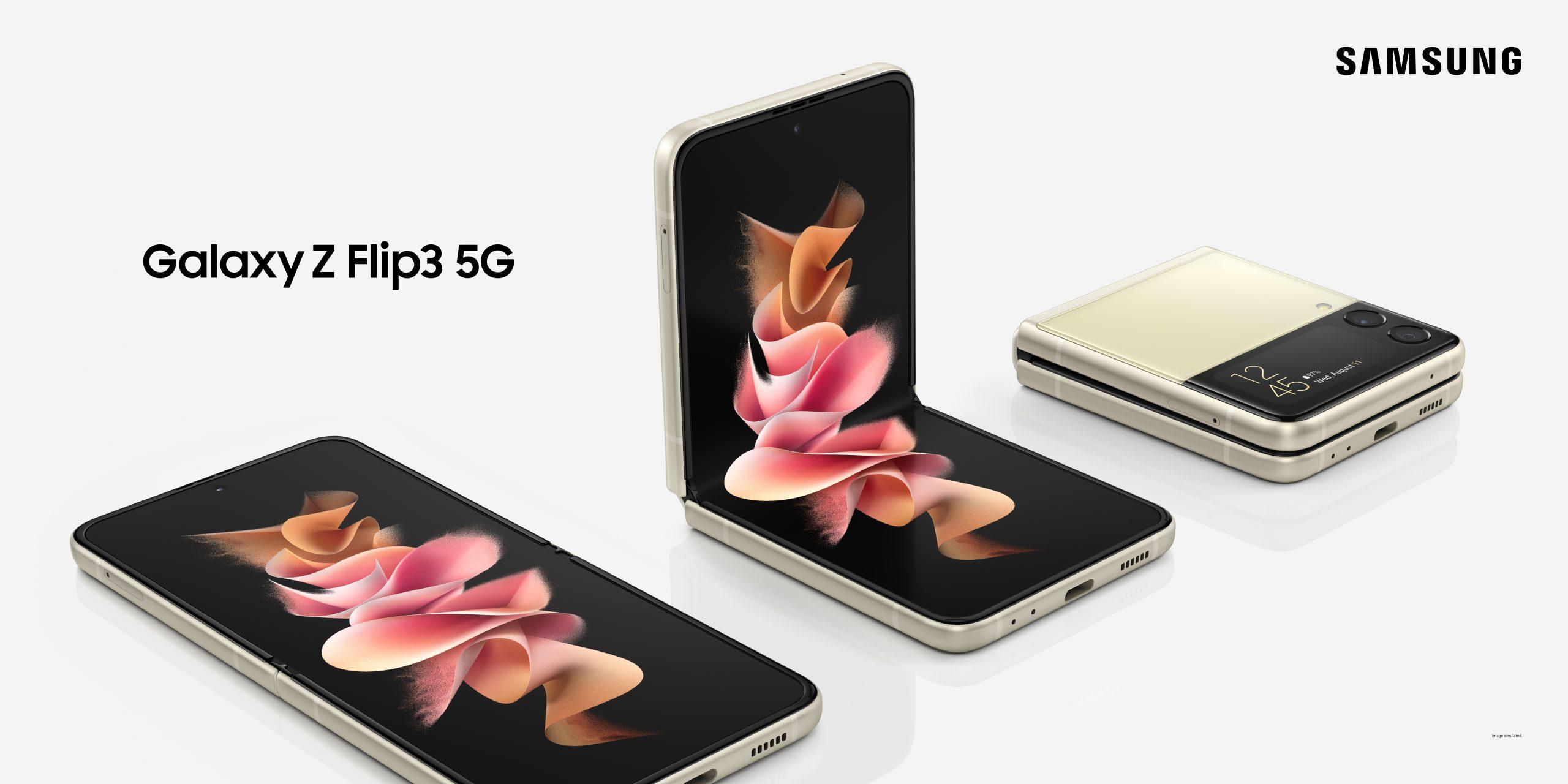 Galaxy Z Flip3 KV(5G)_OOH_H